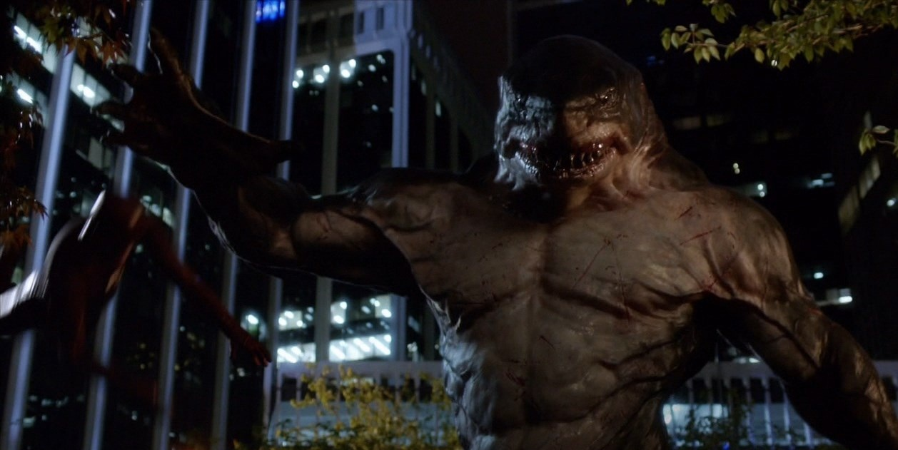 King Shark of The Flash - better CGI effect than Killer Croc!