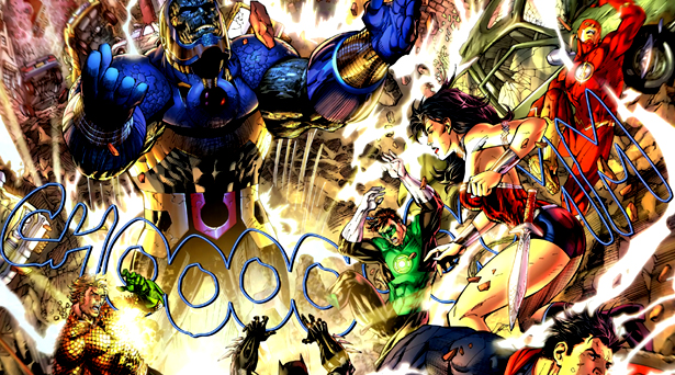 Darkseid and the Justice League