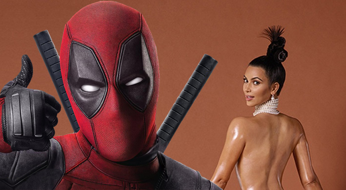 A chat between Deadpool & Kim Kardashian!