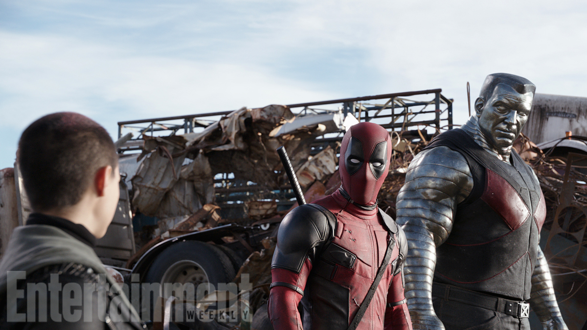 Colossus and Deadpool