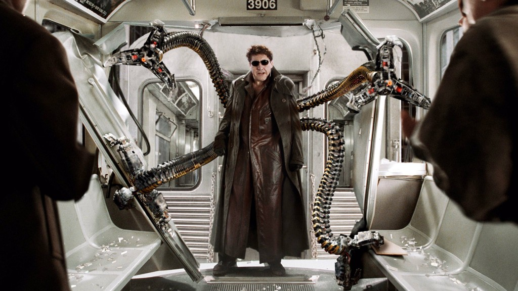 Alfred Molina in 'Spider-Man 2'