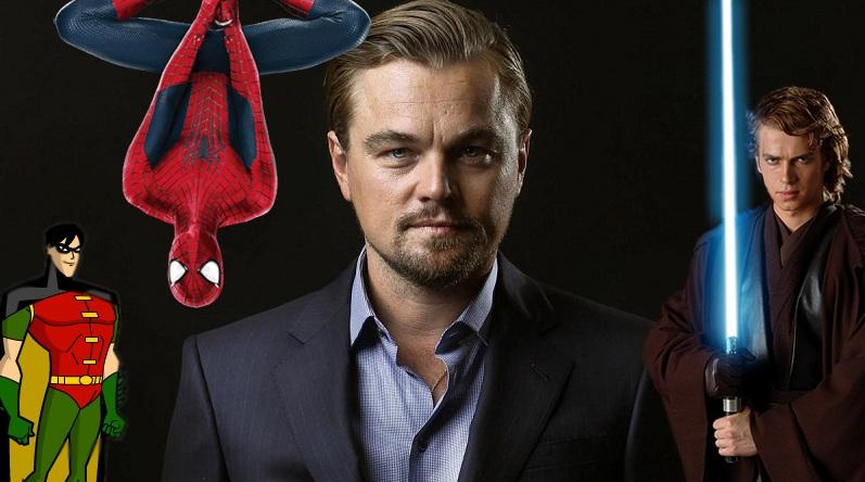 Leonardo DiCaprio talks on rejecting Robin, Spider-Man and Anakin Skywalker roles!