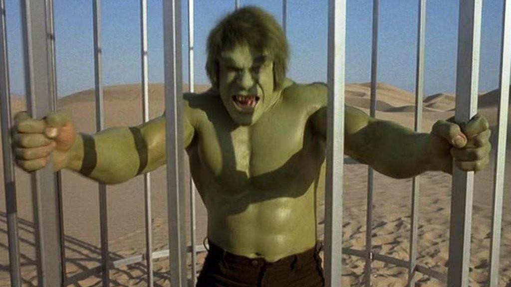 Lou Ferrigno in The Incredible Hulk