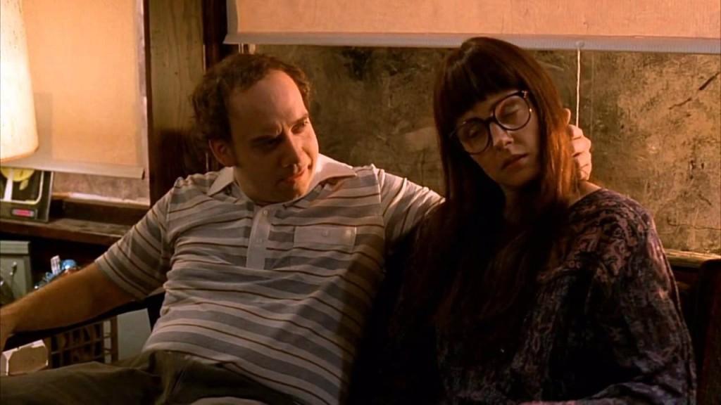 Paul Giamatti and Hope Davis in 'American Splendor'