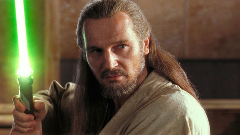 Qui-Gon Jinn can be helpful even after he dies