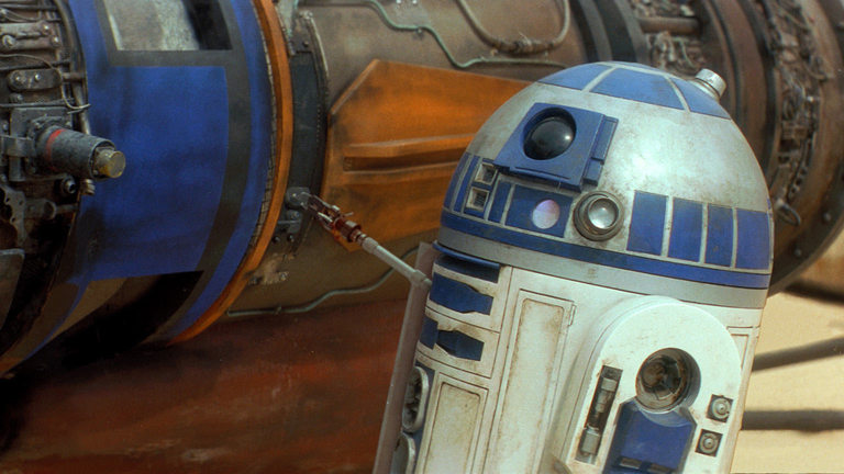 Star Wars movie heroes wouldn't be complete without R2-D2