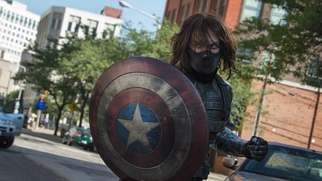 Sebastian Stan in 'Captain America: The Winter Soldier'