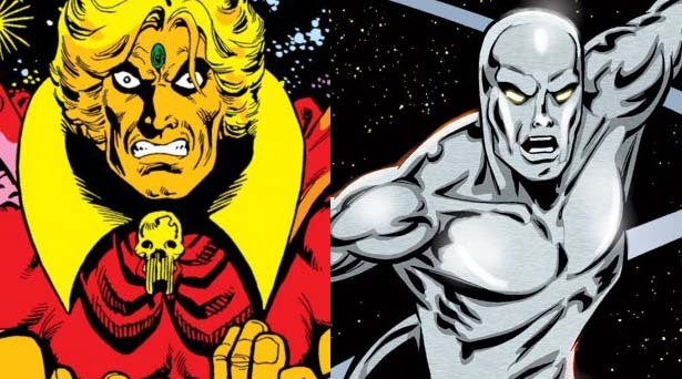 Adam Warlock and the Silver Surfer