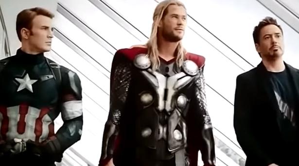 Captain America, Thor & Tony Stark