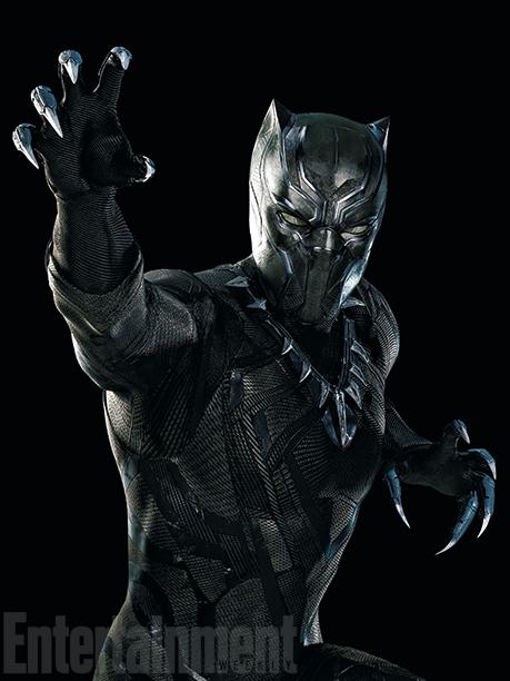 New look at Chadwick Boseman as Black Panther
