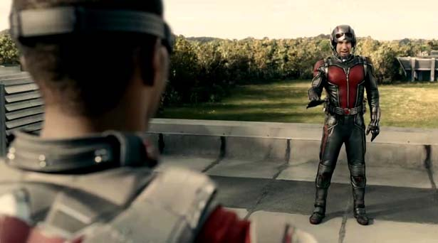 Falcon and Ant-Man