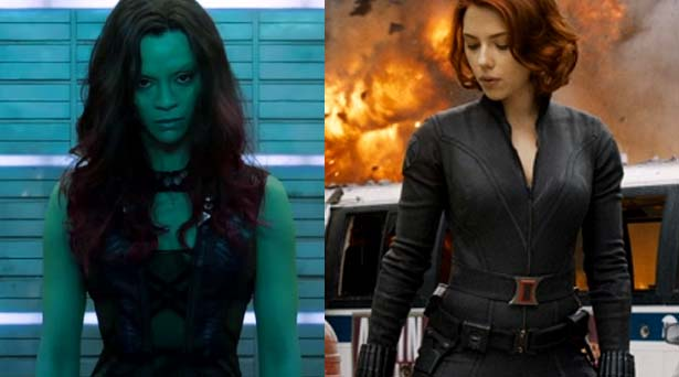 Gamora and Black Widow