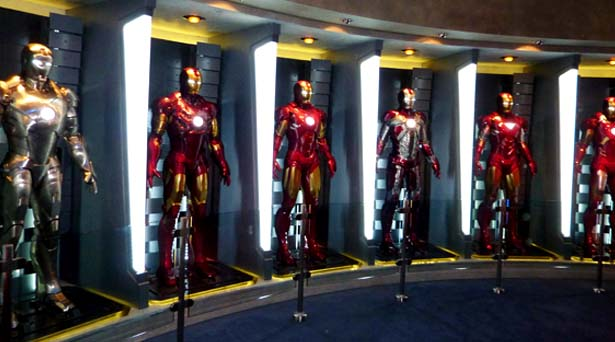 Iron Man's Armours