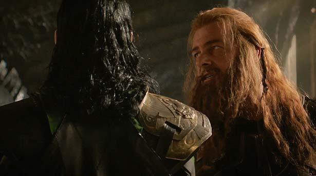 Loki and Volstagg