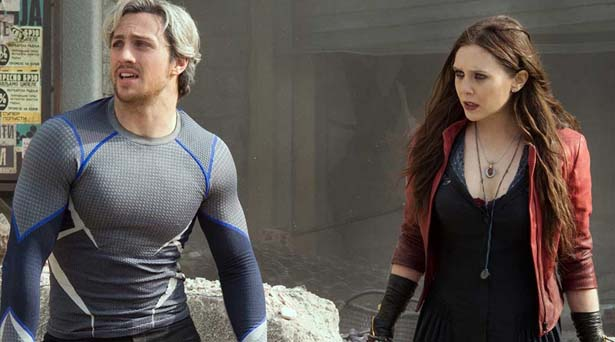 Quicksilver and the Scarlet Witch
