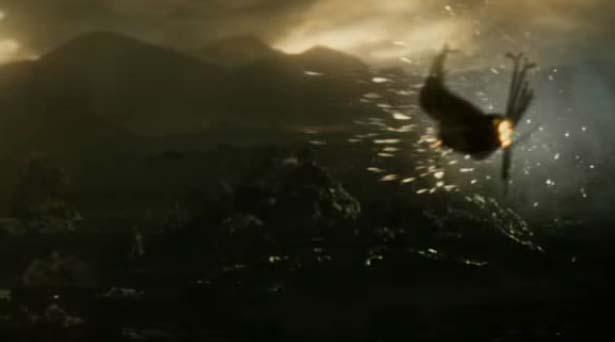 Thor, Loki and Jane Foster arrive on Svartalfheim