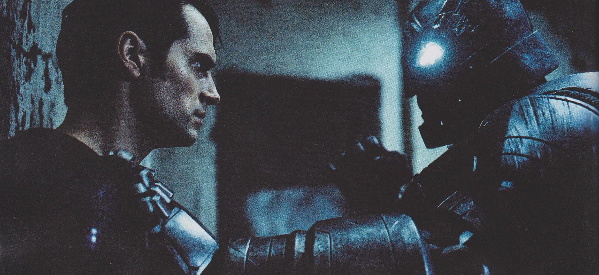Batman v Superman staredown