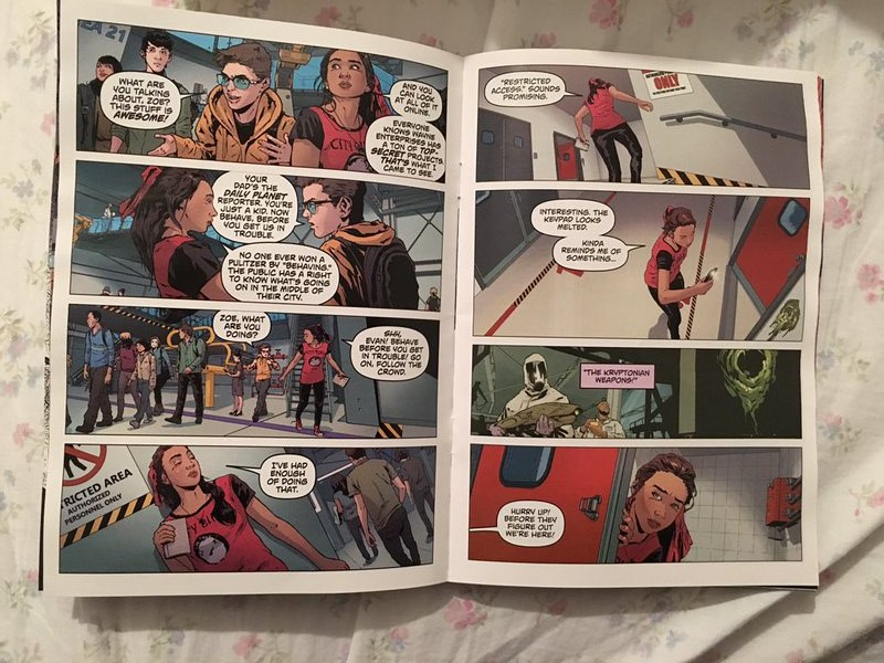 BVS prequel comic 3