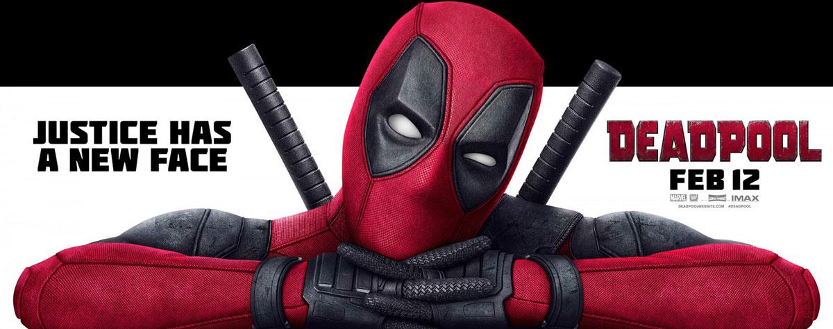 Deadpool movie banner