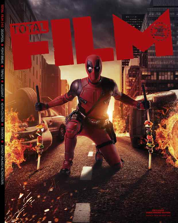 Total Film cover featuring Deadpool!