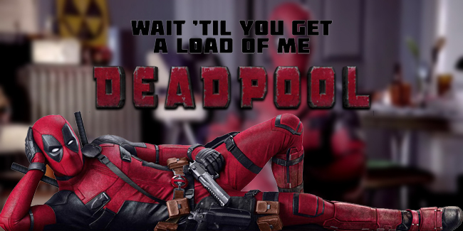 Deadpool promotes 'touching yourself' in new promo!