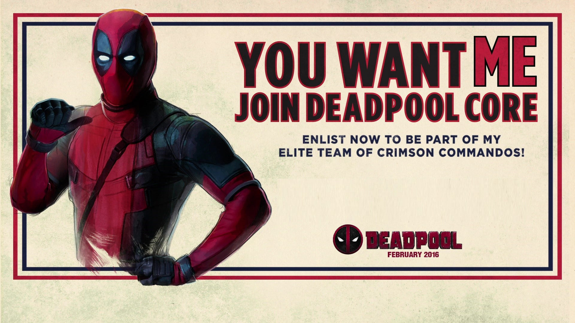 Join the Deadpool Corps!