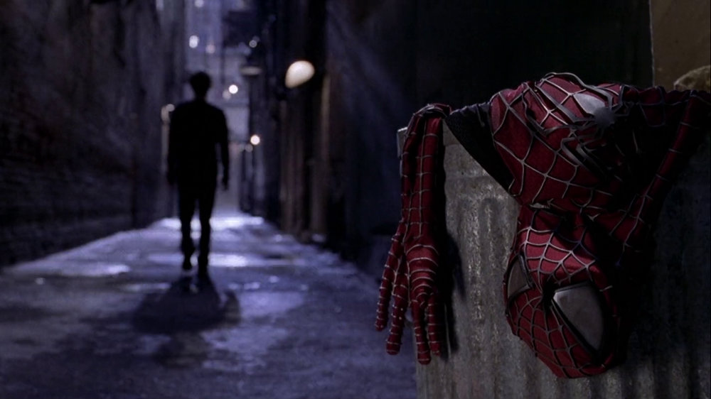 Tobey Maguire in Spider-Man 2