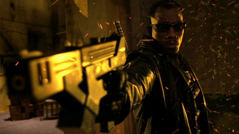 Wesley Snipes in Blade 2