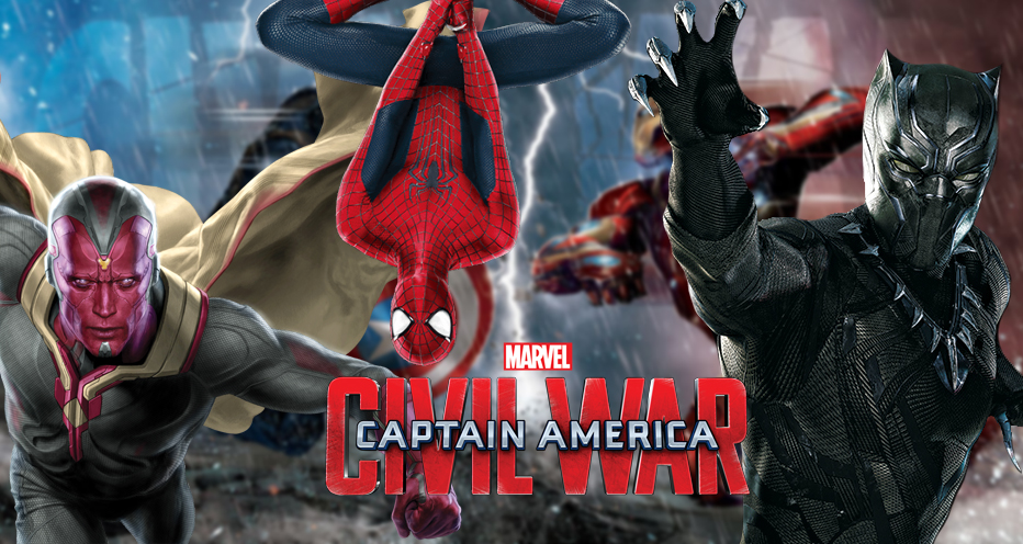 Spider-Man, Black Panther & Vision have story arc in Civil War!