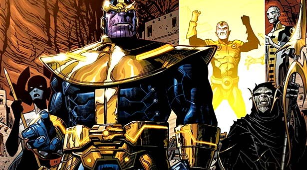 Thanos and the Black Order