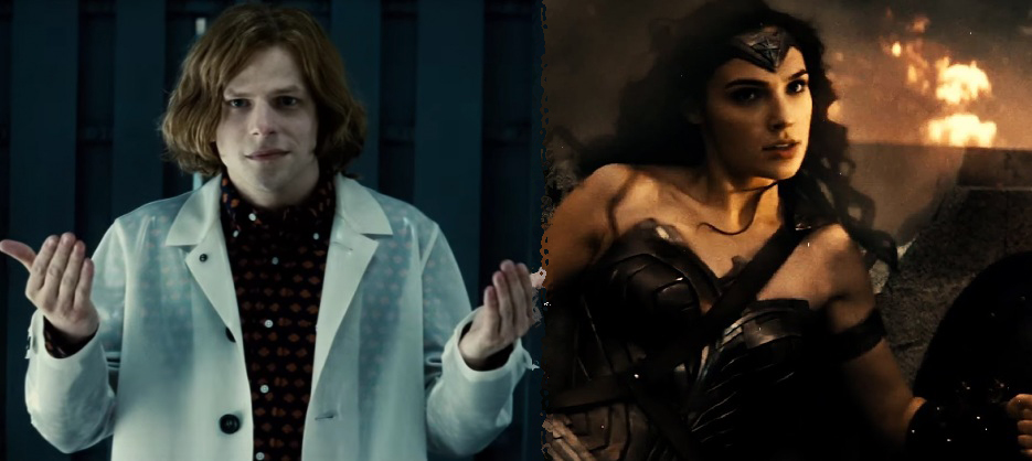 Wonder Woman's arrival in Batman V Superman connected to Lex Luthor's obsession for metahumans!