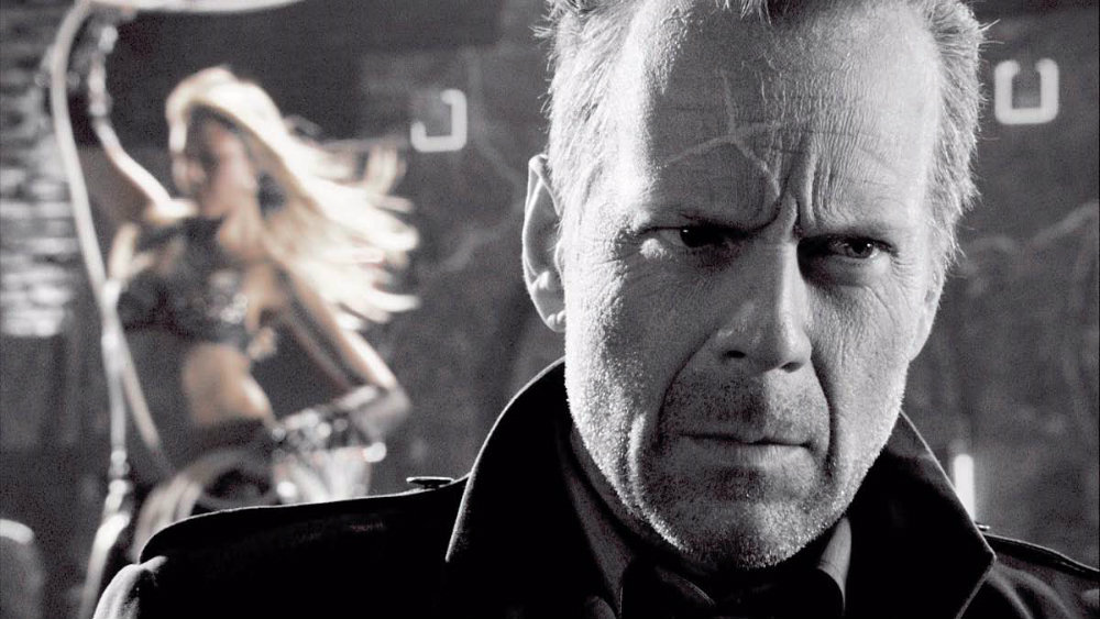 Bruce Willis in Sin City