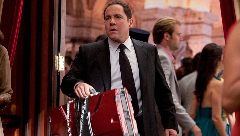 Jon Favreau as Happy Hogan