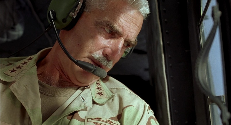 Sam Elliott as General Ross