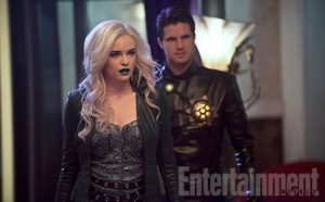 Killer Frost and Deathstorm in The Flash