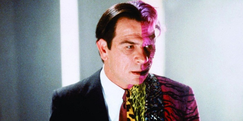 Tommy Lee Jones as Two Face
