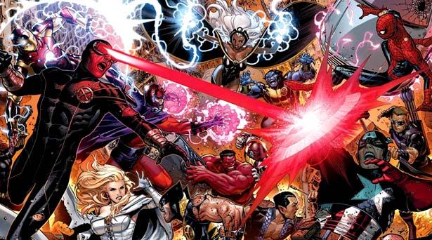 Avengers Vs. X-Men. Source: Marvel Comics