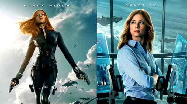Black Widow & Agent 13. Source: Marvel Studios