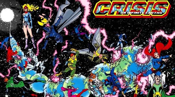 Crisis on Infinite Earths. Source: DC Comics