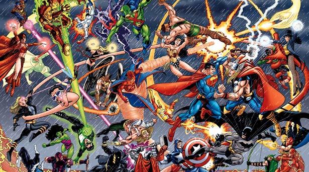 JLA/Avengers. Sources: DC Comics/Marvel Comics