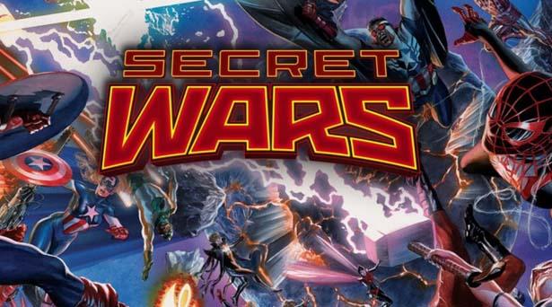 Secret Wars. Source: Marvel Comics