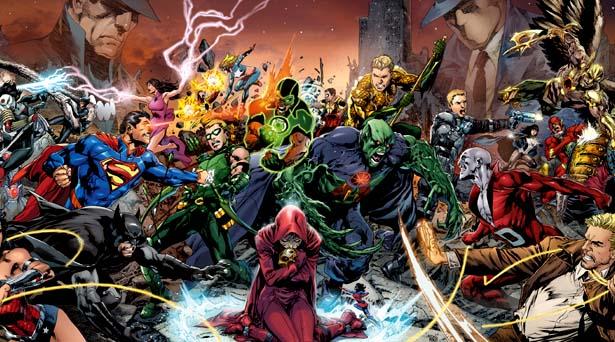 Trinity War. Source: DC Comics