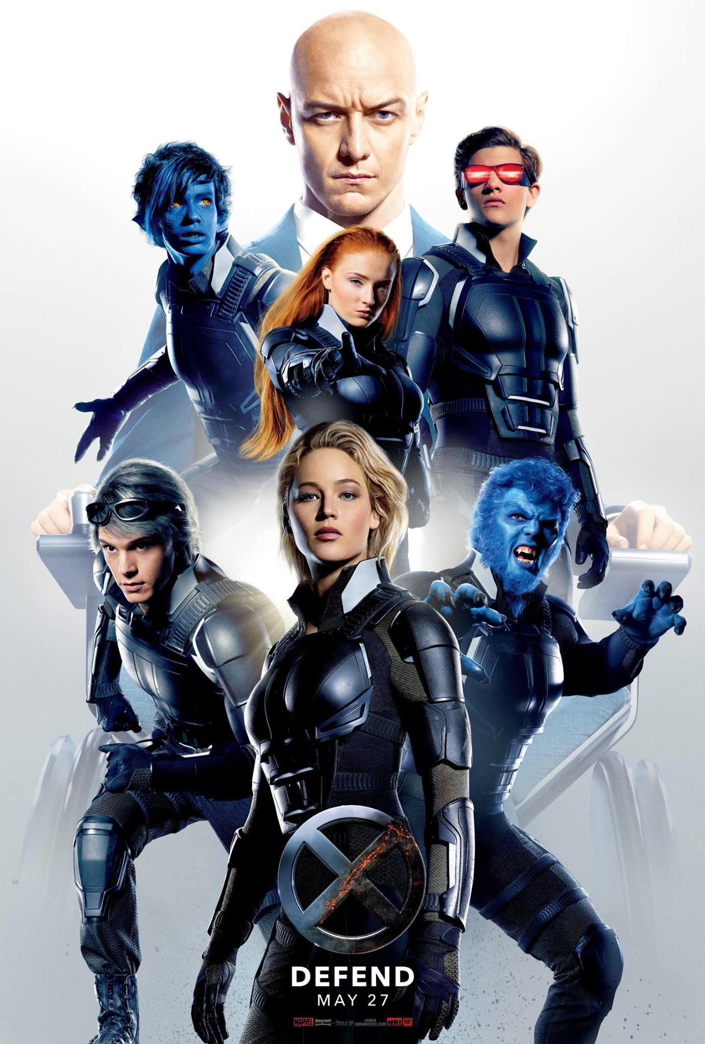 X-Men: Apocalypse DEFEND poster