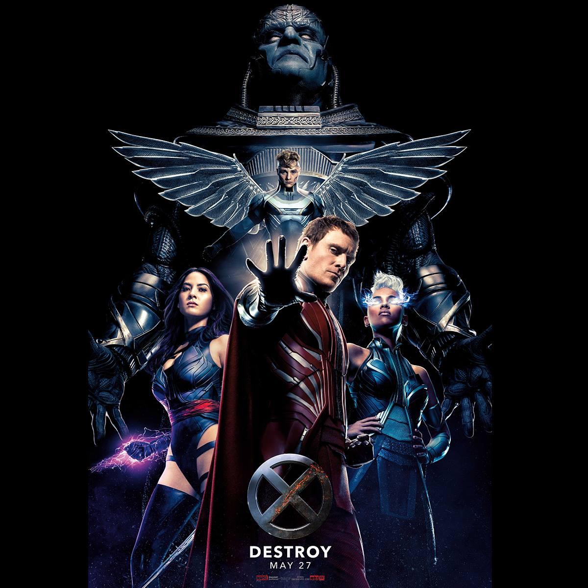 X-Men: Apocalypse DESTROY poster