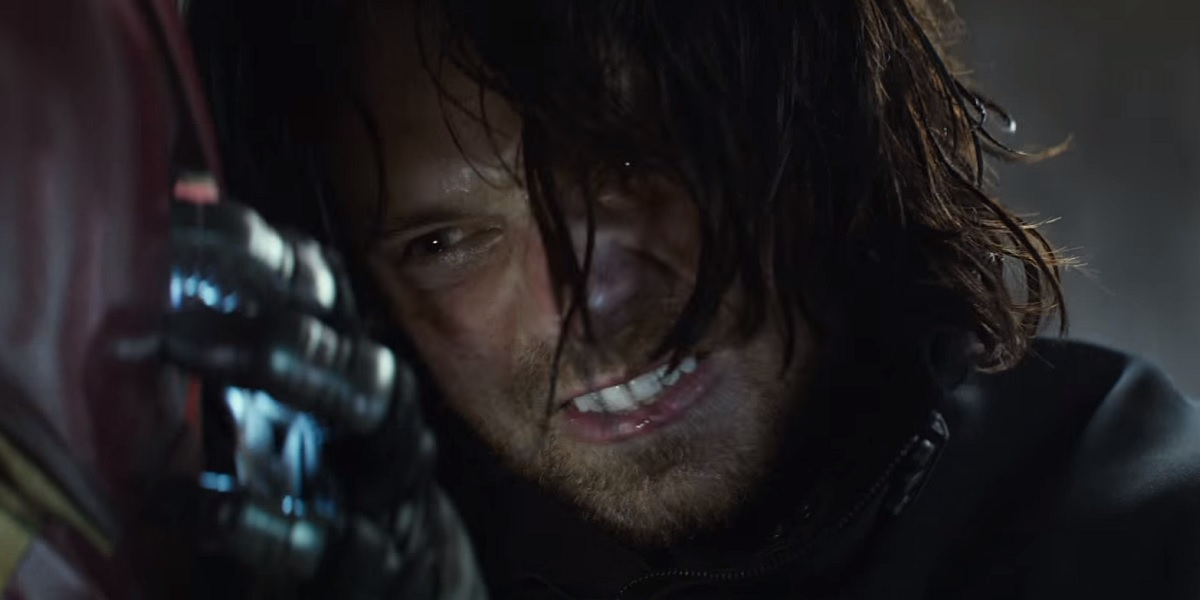 Bucky Barnes vs. Iron Man (source Screen Rant)