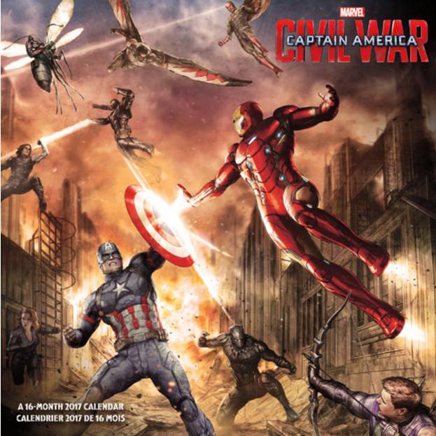 Captain America: Civil War artwork