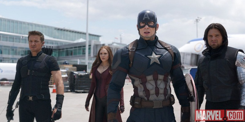 Captain America: Civil War features one 15 minute IMAX sequence