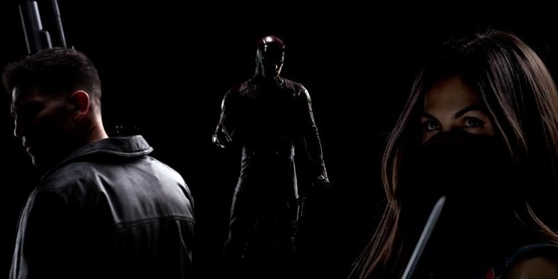 Daredevil Season 2 promo and poster has the three big heroes suited up in new costumes 1
