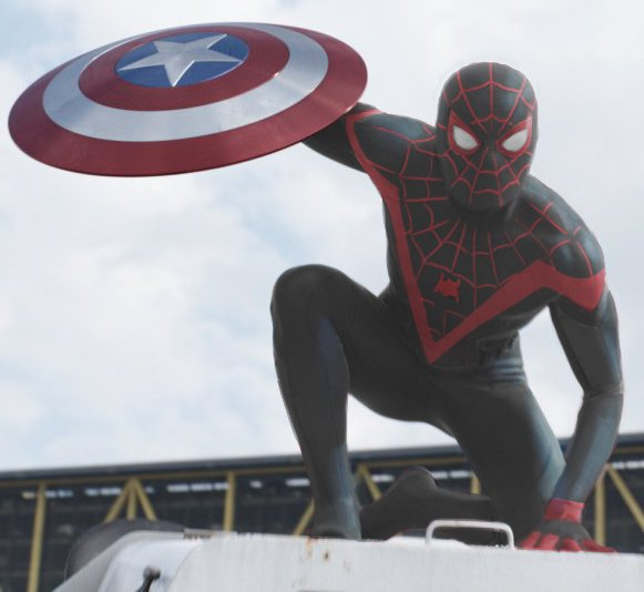 What if Miles Morales was the Spider-Man in Captain America: Civil War
