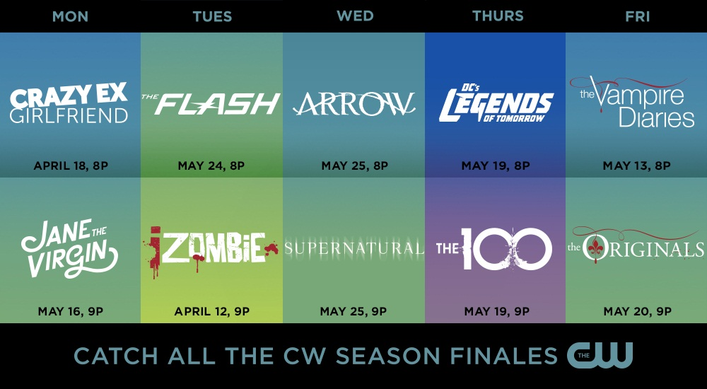 The Flash, Arrow and Legends of Tomorrow get their season finale dates